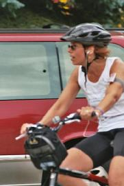 Kristine Korpal rides in the inaugural Mind Over Matter event in 2005.